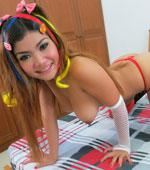 Busty and petite Thai teen babe name Tida