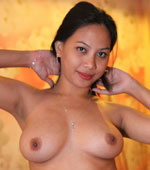 Great fuck session with cute and busty Filipina