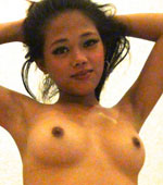 Horny Filipina girl Nica loves to ride cock