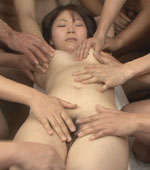 Horny amateur Japanese girl Yuka got bukake