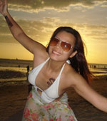 Collection of amateur Pinay girls in beach wear