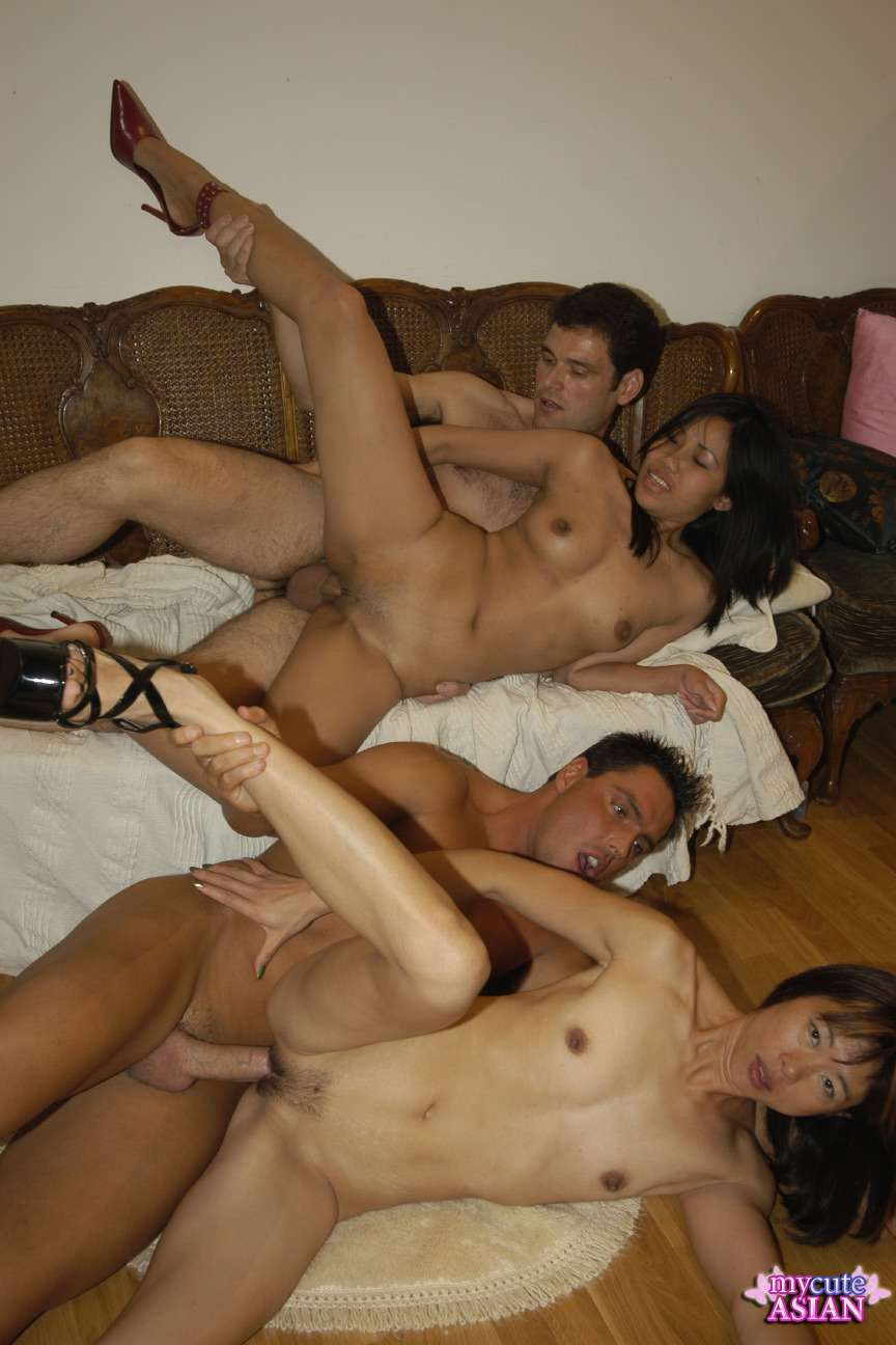 Free asian orgy porn videos