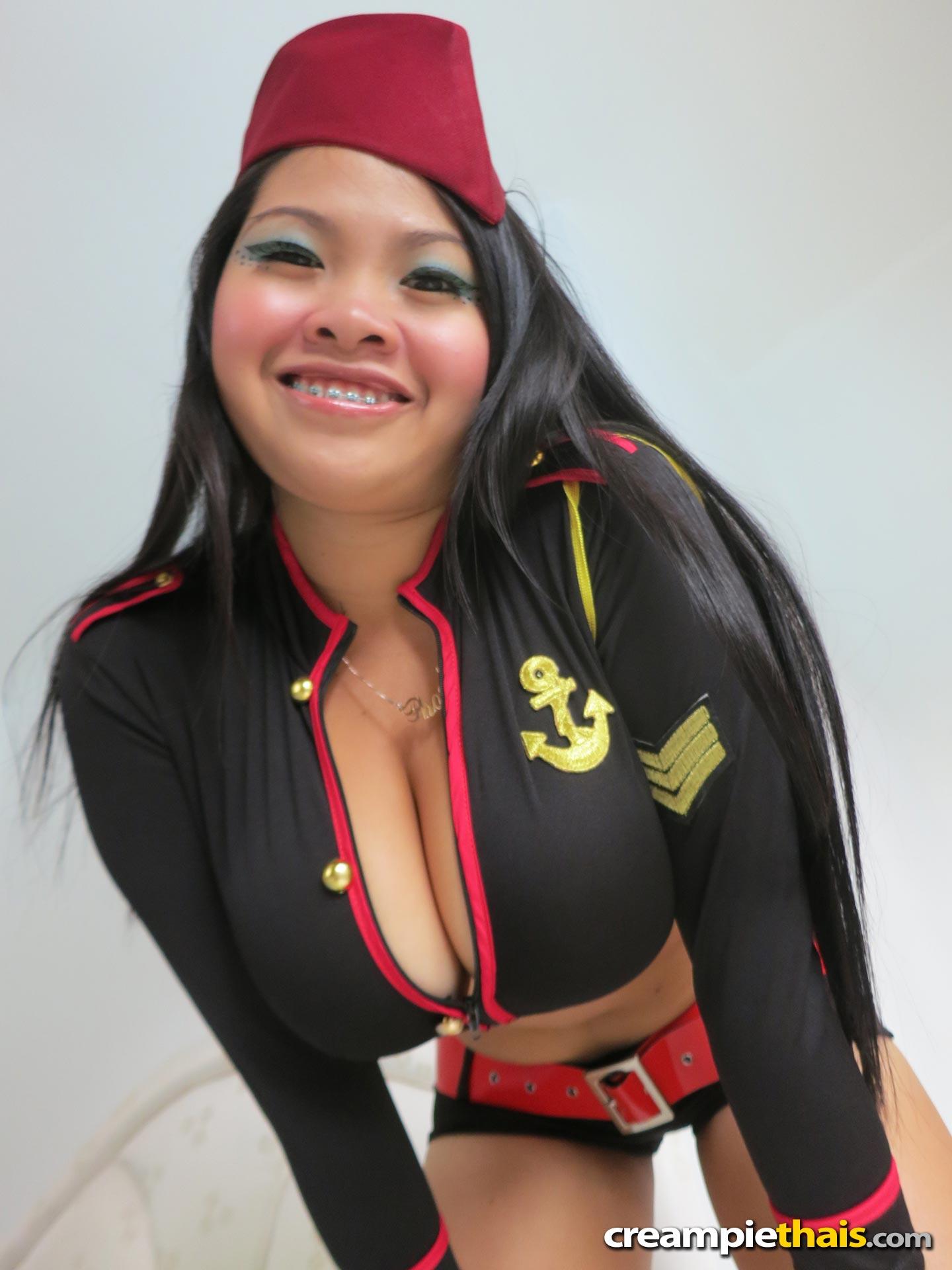 Phoebi thai chubby girl congratulate, seems