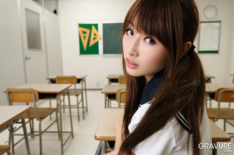 Young asian teen flirt commit error