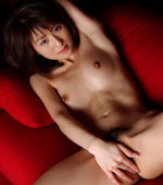 AV Idol Naho Ozawa in her white see through panties