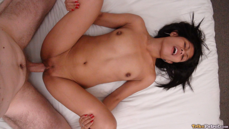 Asian doggystyle makeout skinny