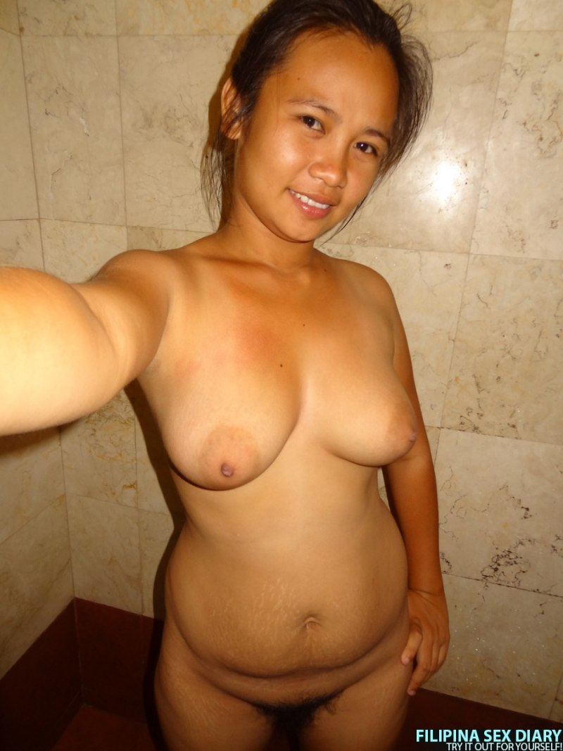 Pinay Girl With Hairy Pussy Shower Before Sex  Asian Porn -9564