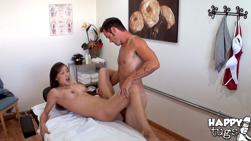Sexy Arial Rose Massages Man With Big Cock  Asian Porn Times-7659