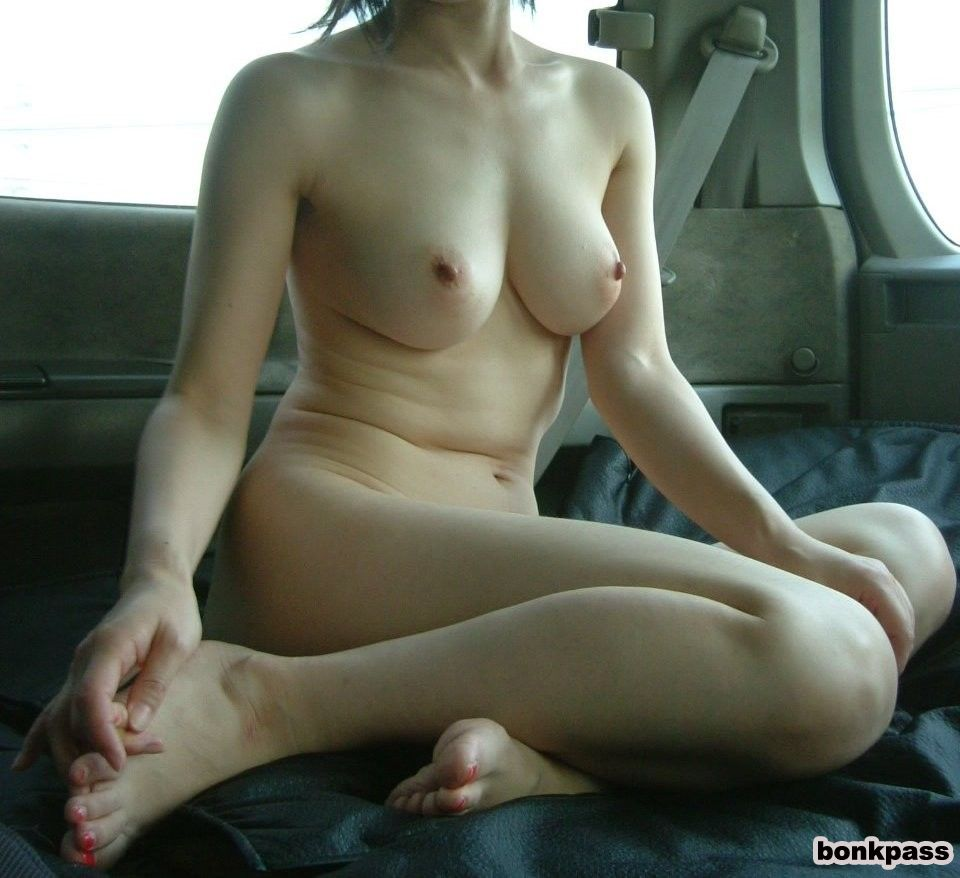 Japanese Amateurs In Car Nude Flashing Compilations -8922