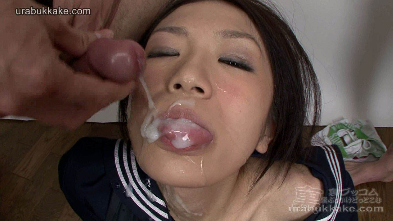 Naughty Japanese Girl Mio Got Cum On Her Face  Asian Porn -5444