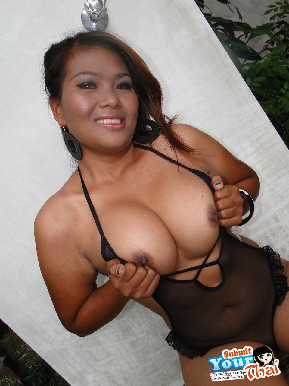 Sweet Faced Chubby Thai Girl With Nice Boobs  Asian Porn -6002