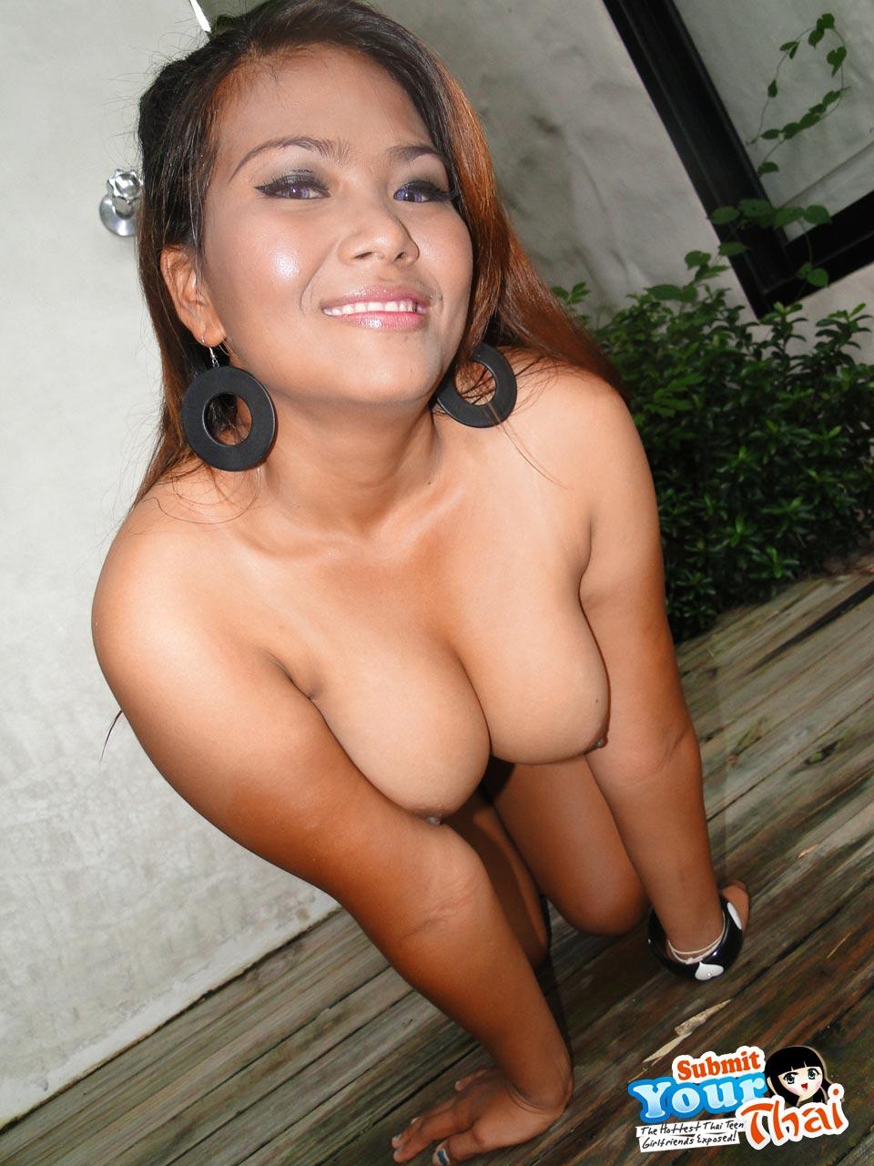 Sweet Faced Chubby Thai Girl With Nice Boobs  Asian Porn -1887