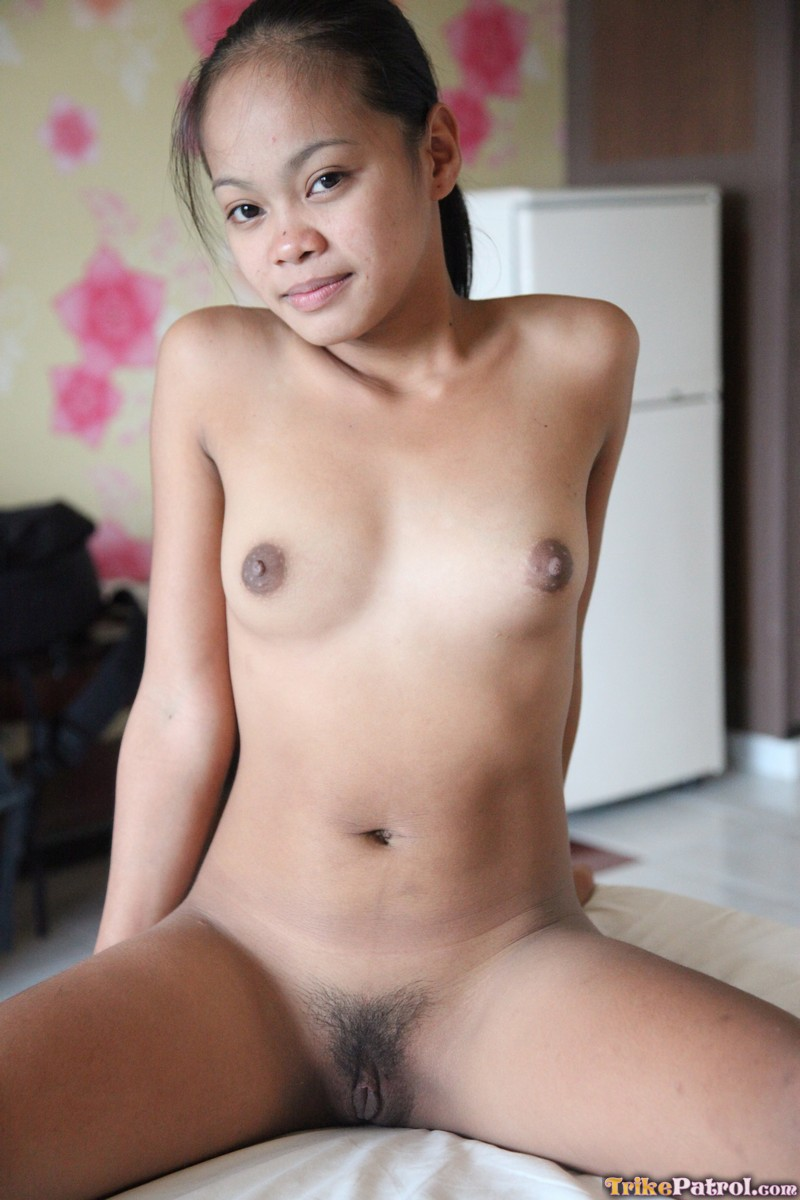 Horny Teen Filipina Arcel Very First White Cock  Asian -7153